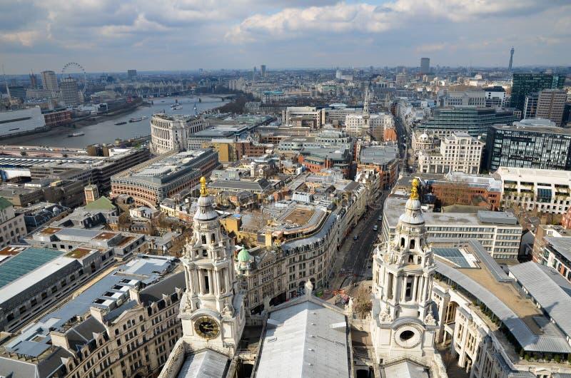 London panorama royalty free stock photo