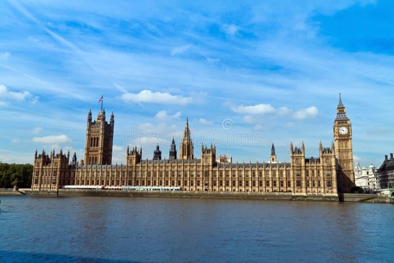 london parlament arkivfoto