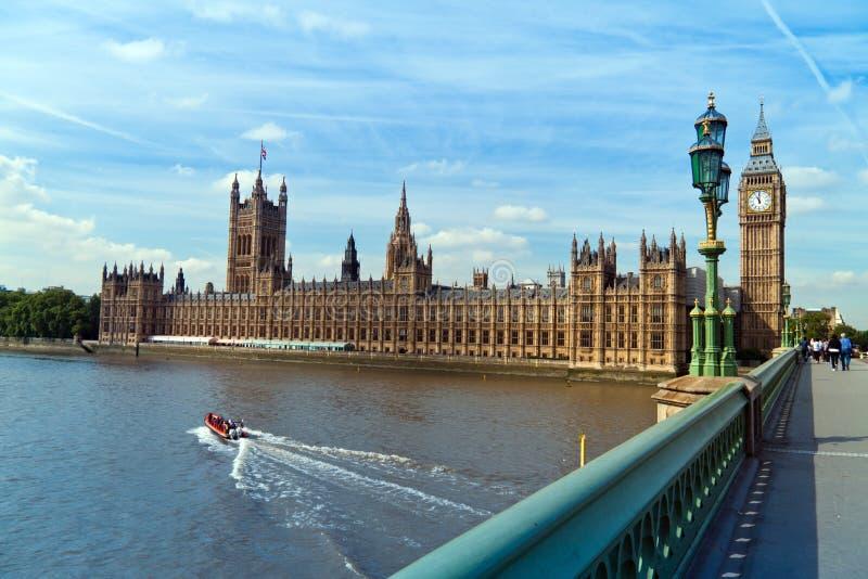 london parlament royaltyfri bild