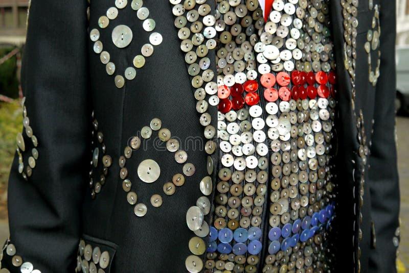 London: perliges Königklagendetail lizenzfreie stockfotografie