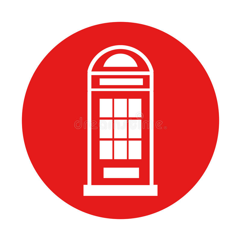 London phone cab isolated icon. Vector illustration design vector illustration