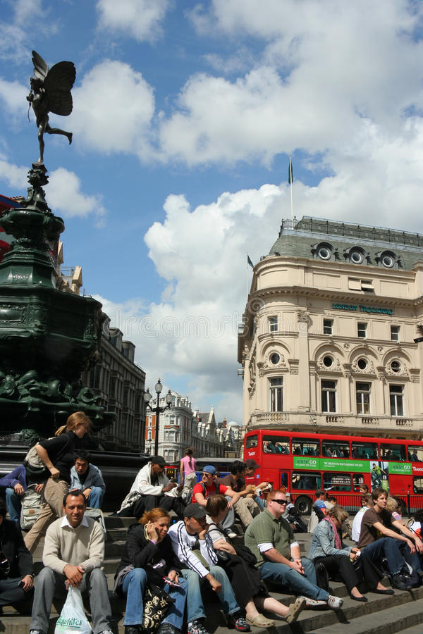 Download London Piccadilly Circus editorial photo. Image of square - 14312646