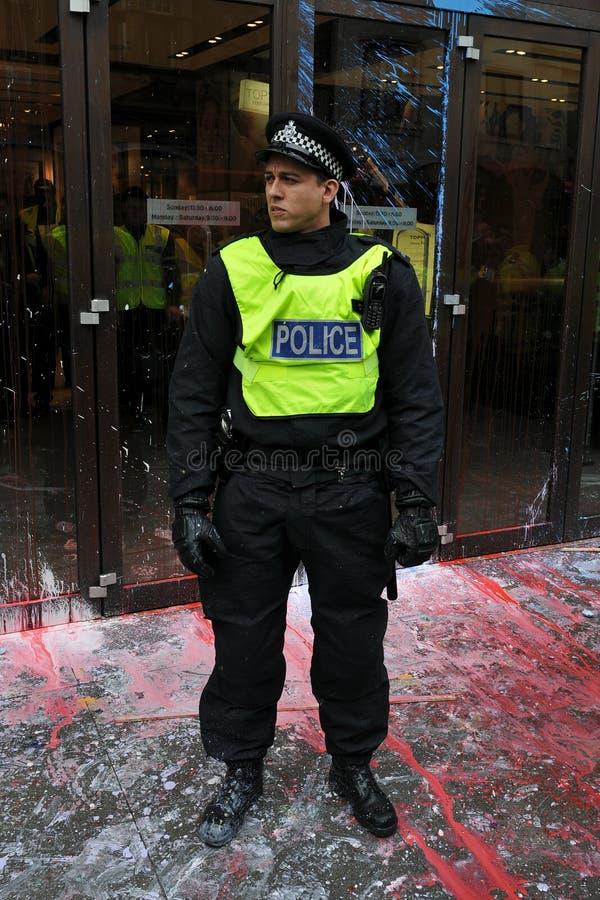 london polis arkivfoton