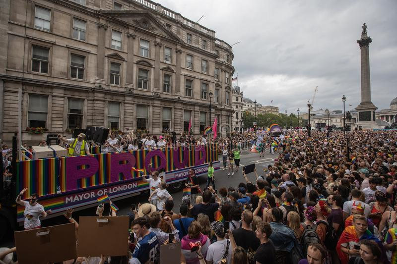 London Pride 2019 stock photos