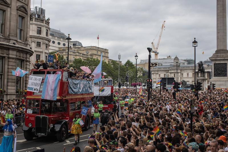 London Pride 2019 royalty free stock photos