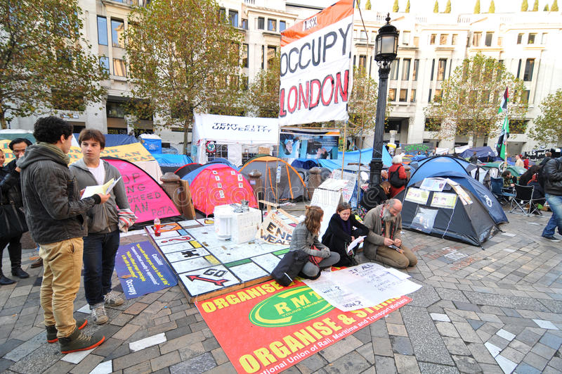 london protester arkivbilder