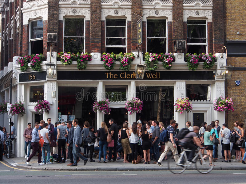 London Pub stock photos