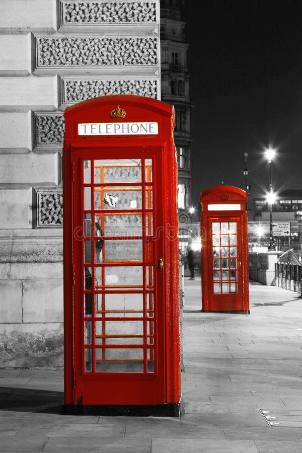 Free London Red Phone Booth Royalty Free Stock Photography - 32342507