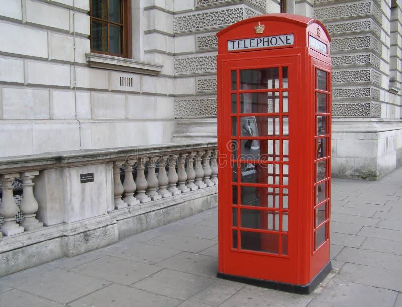 London Red telephone box stock photo