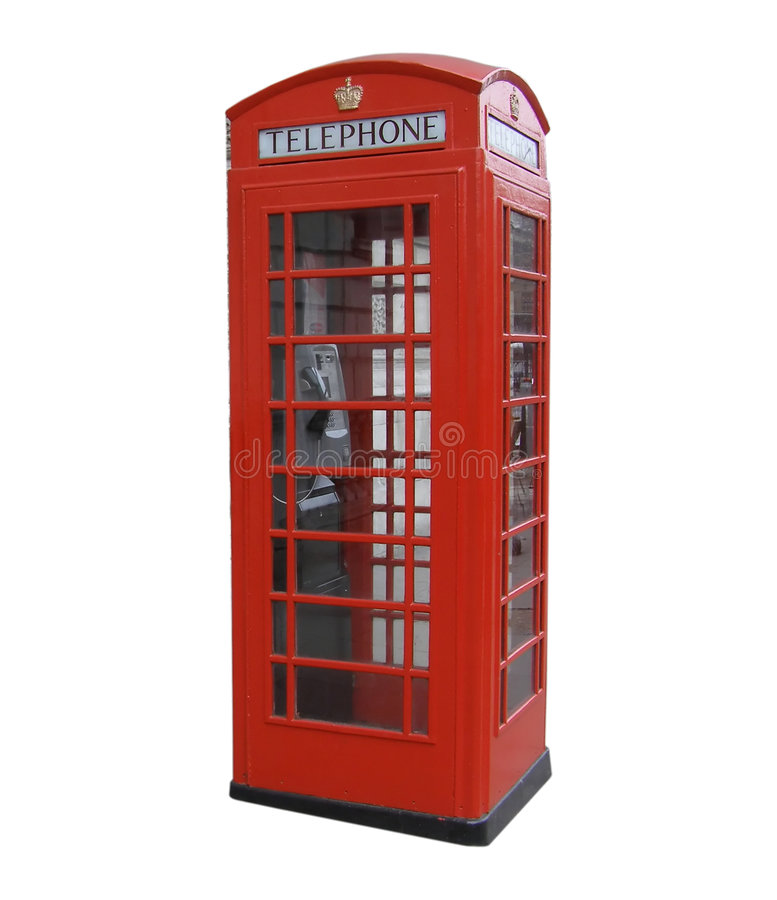 Free London Red Telephone Box Stock Images - 4574054