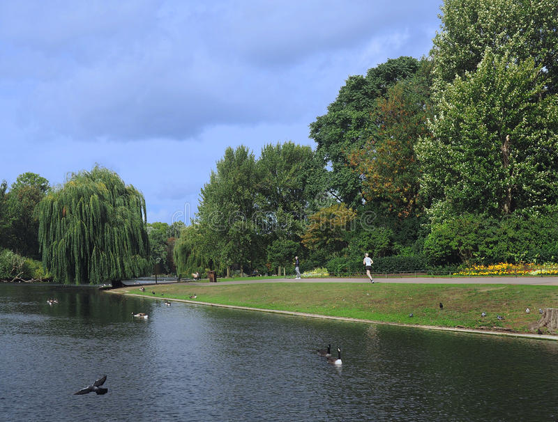 London, Regent's Park royalty free stock photo