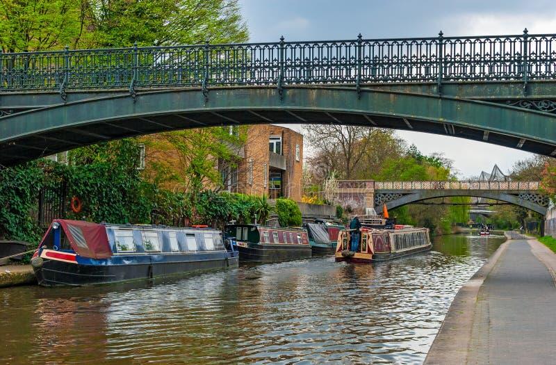 London, Regents Canal royalty free stock photo
