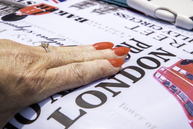 The London Ring obraz stock