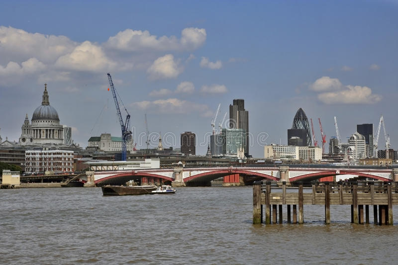 Download London riverside stock image. Image of lamppost, boats - 22754025