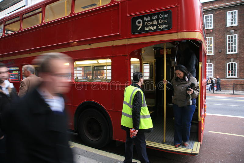 Download London Route Master Bus editorial stock photo. Image of west - 20798743