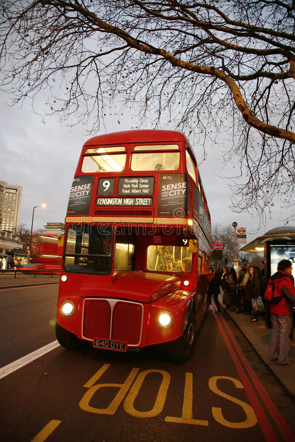 Download London Route Master Bus editorial photo. Image of transportation - 23001716