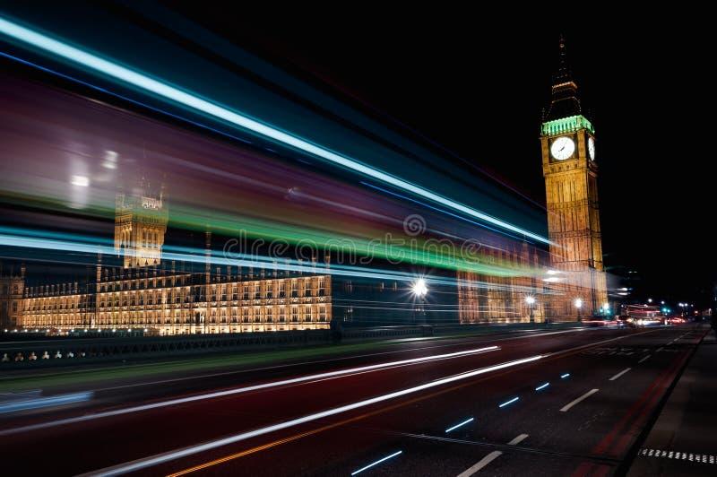 london ruch drogowy fotografia royalty free