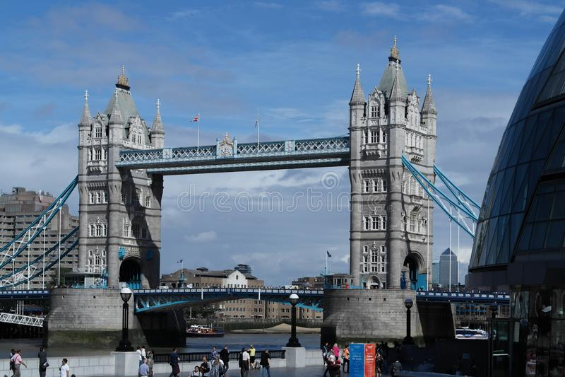 The London`s Bridge stock image