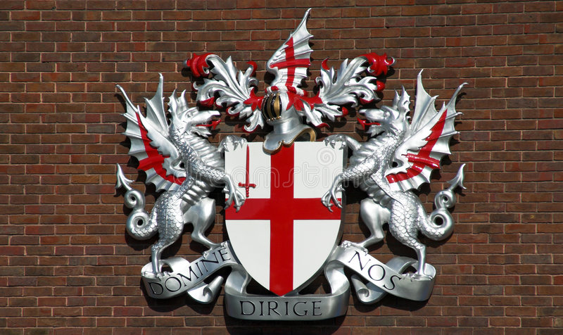 London S Coat Of Arms Royalty Free Stock Image