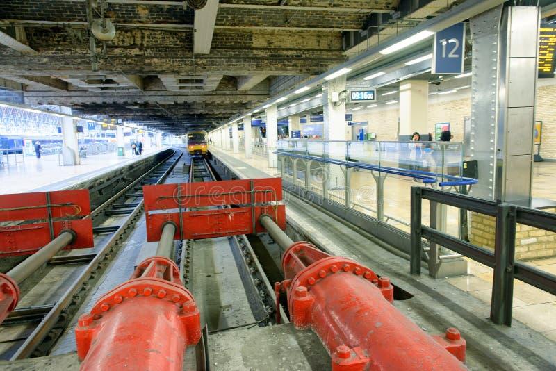 LONDON - 26. SEPTEMBER 2016: Liverpool-Straßenbahnstation E stockfotografie