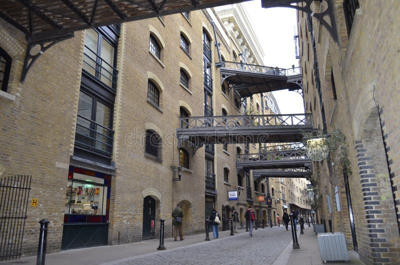 London, Shad Thames lizenzfreie stockbilder