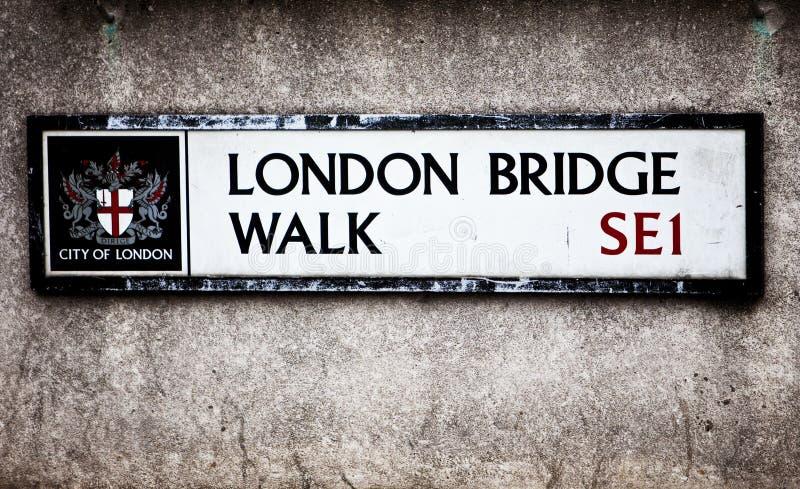 London Sign royalty free stock photos