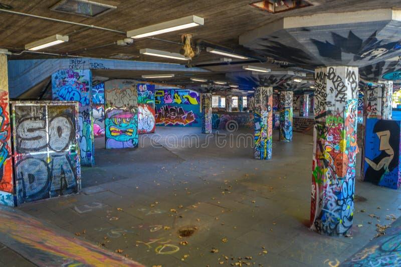 London Skate Park arkivbilder