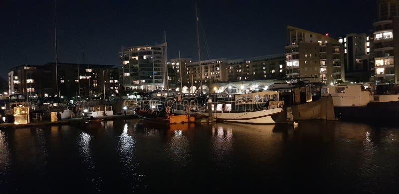 London skeppsdockor arkivfoton