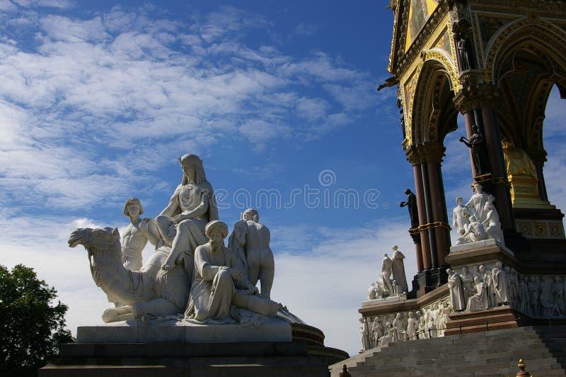 london skulptursten arkivfoton