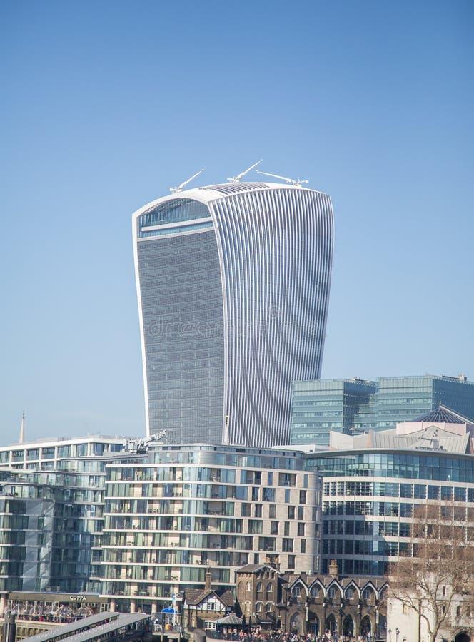 London sky garden 2019 stock photos