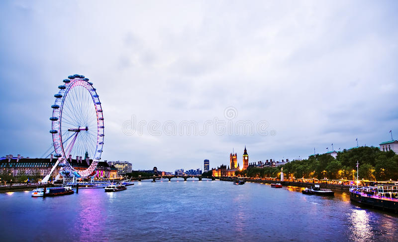 London Skyline Editorial Stock Photo