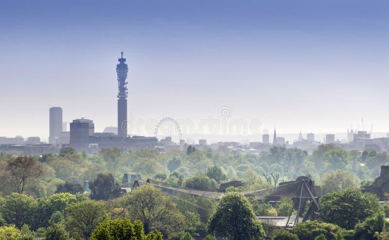 London-Skyline stockbild