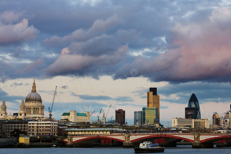Download London Skyline Stock Photo - Image: 7064880