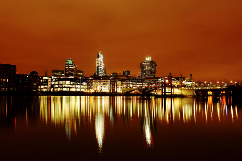 London Skyline Royalty Free Stock Photography