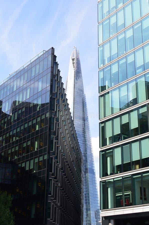 London skyline. royalty free stock photography