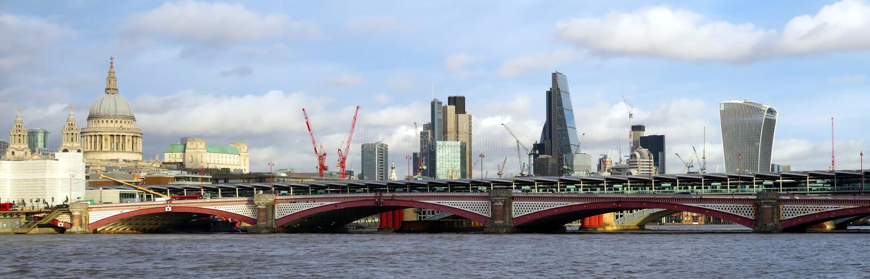 London skyline royalty free stock photography