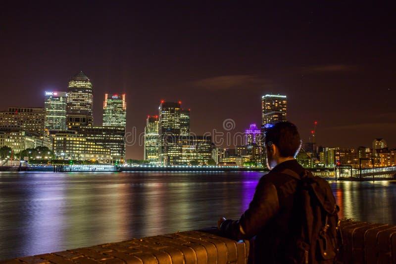 London Skyline At Night Free Public Domain Cc0 Image