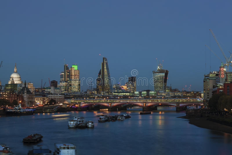 Download London skyline editorial stock photo. Image of tower - 39507363