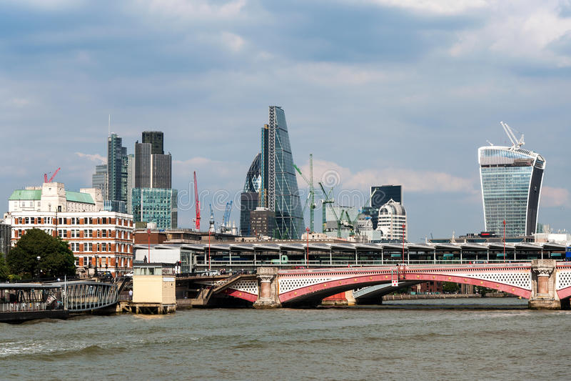 London Skyline royalty free stock photo