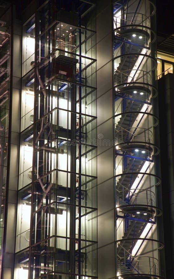 London - Sonderkommando von der modernen Architektur lizenzfreie stockbilder