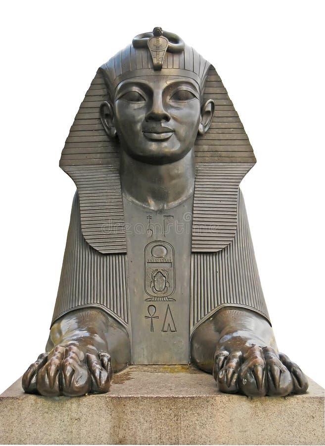 london sphinx royaltyfri bild