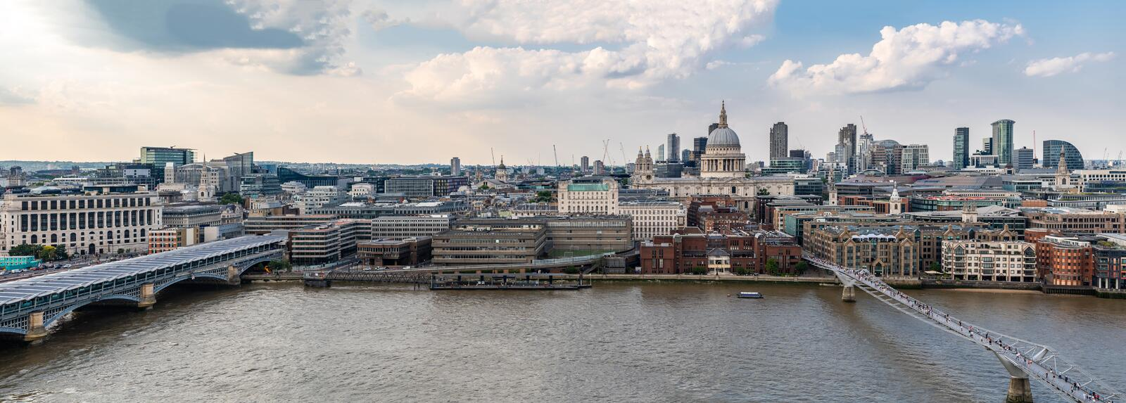 London St Paul& x27;s Cathedral royalty free stock photo
