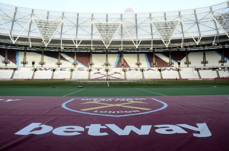 London stadion arkivfoto