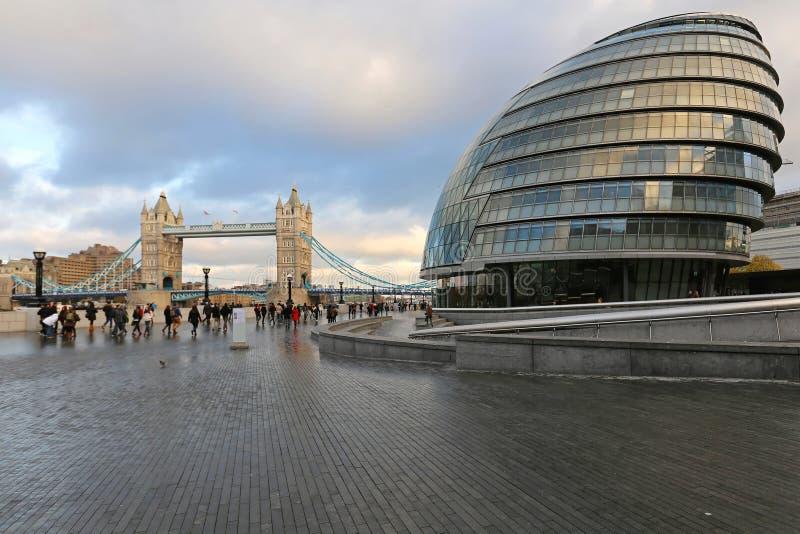 London stadshus fotografering för bildbyråer