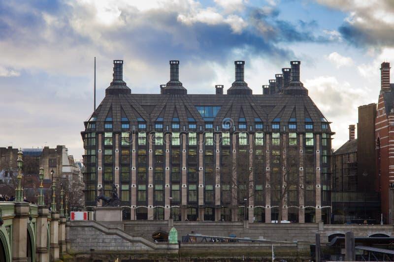 London-Stadt, Altbau stockbild