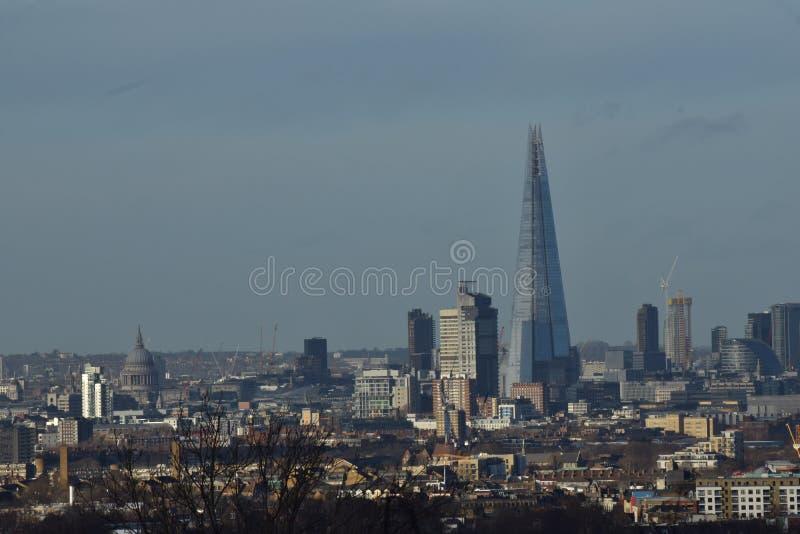 London-Stadt Skyline lizenzfreies stockbild
