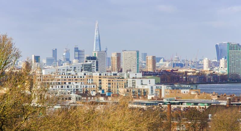 London-Stadt Skyline lizenzfreie stockfotos