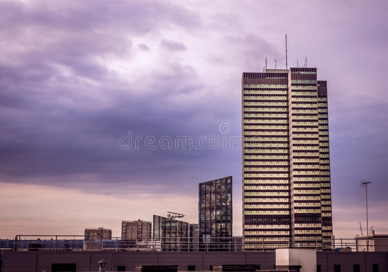London-Stadt Skyline stockfoto