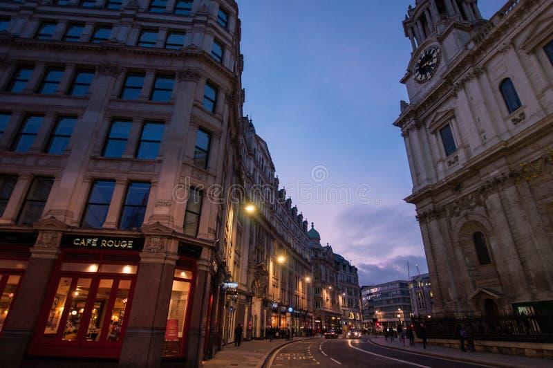 London-Straßenansicht stockbilder
