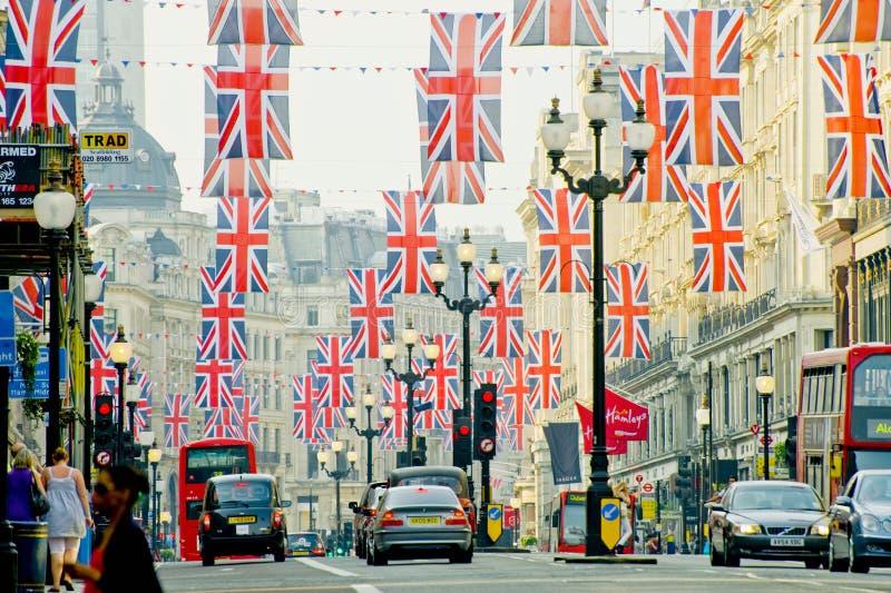 London Street Editorial Stock Photo